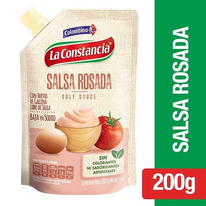 SALSA ROSADA x 200g - LA CONSTANCIA