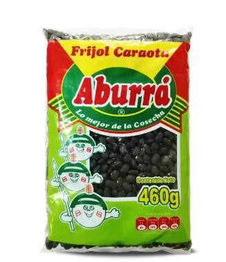 FRIJOL CARAOTA NEGRO x 460g - ABURRA
