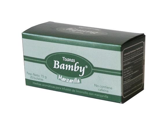AROMATICA MANZANILLA x 20und - BAMBY