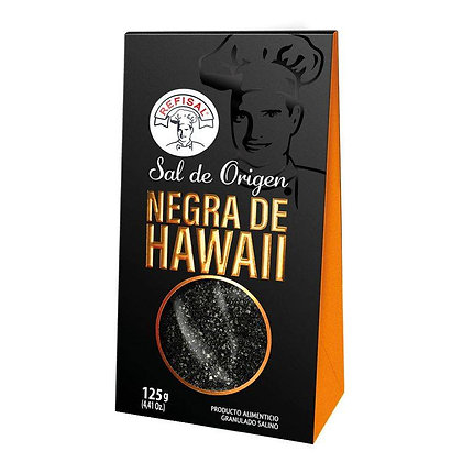 SAL NEGRA DE HAWAII x 125g - REFISAL