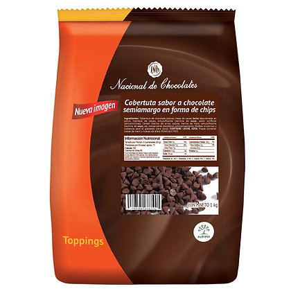 CHIPS CHOCOLATE x1kg-NUTRESA