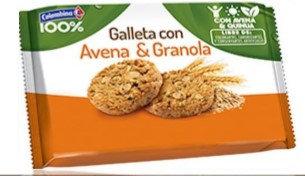 GALLETA AVENA-GRANOLA x6und-COLOMBINA