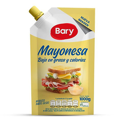 SALSA MAYONESA x 1kg - BARY