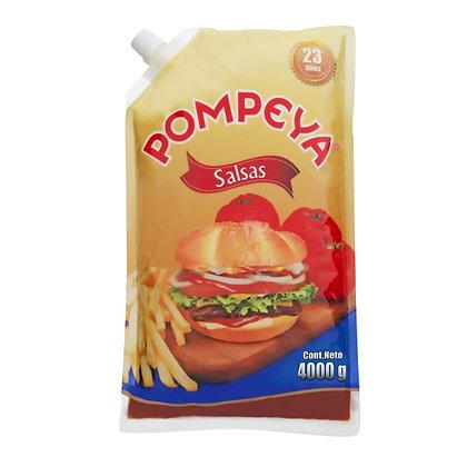 SALSA BBQ BOLSA x 4kg - POMPEYA