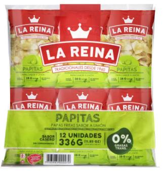 PAPA LIMON 12und x336g-REINA