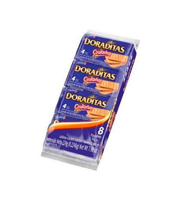 GALLETA CRAKENAS DORADITAS 8 PQ x 3und - COLOMBINA