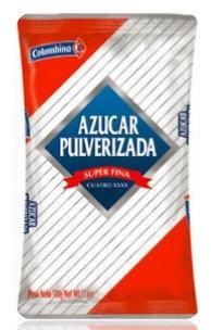 AZUCAR PULVERIZADA x500g-COLOMBINA
