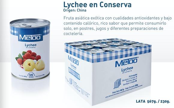 LYCHEE x 567g - METOO