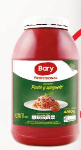 PASTA DE TOMATE GARRAFA x 4.2kg - BARY