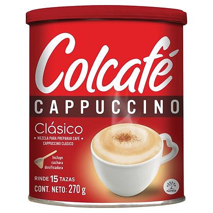 CAPPUCCINO CLASICO x 270g - COLCAFE