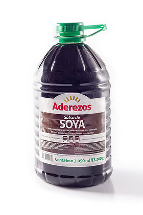 SALSA DE SOYA GARRAFA x 3.2kg - ADEREZOS