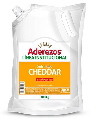 SALSA CHEDDAR x 1kg - ADEREZOS