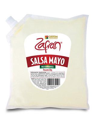 SALSA MAYO RESTAURANTE BOLSA x 1kg - ZAFRAN