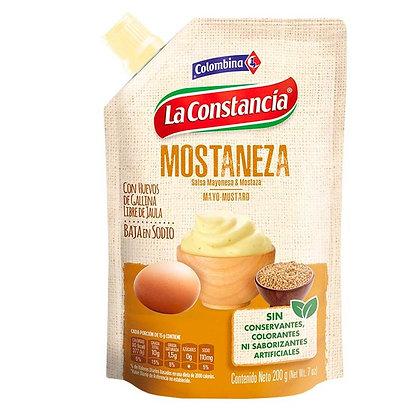 SALSA MOSTANEZA x 200g - LA CONSTANCIA