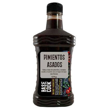 SALSA PIMIENTOS ASADOS x 1.21kg - BASECOOK
