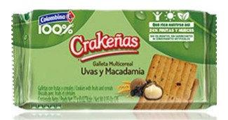 GALLETA UVAS-MACADAMIA x6und-COLOMBINA