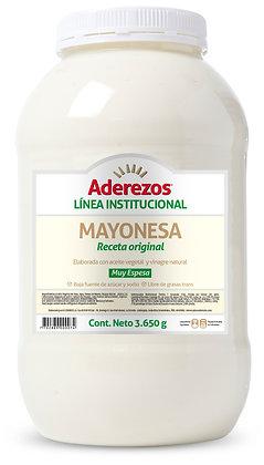 SALSA MAYONESA GARRAFA x 3.6kg - ADEREZOS