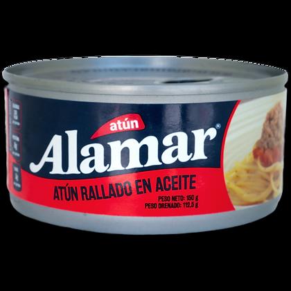 ATUN RALLADO MEZCLAYA ACEITE x 150g - ALAMAR