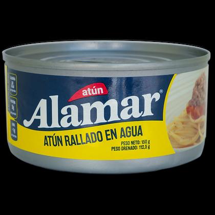 ATUN RALLADO MEZCLAYA AGUA x 150g - ALAMAR