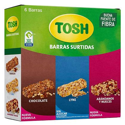 BARRAS CEREAL SURTIDA x6und-TOSH