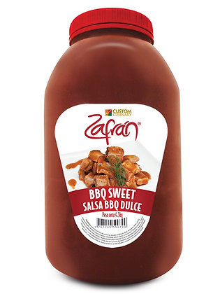 SALSA BBQ SWEET GARRAFA x 4.3kg - ZAFRAN