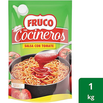 SALSA CON TOMATE COCINEROS x 1kg - FRUCO