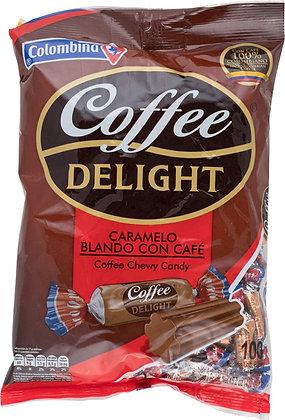 CONFITE COFFEE DELIGHT BLANDO x 100und - COLOMBINA