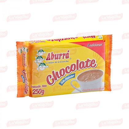 CHOCOLATE MESA SIN AZUCAR x 125g - ABURRA