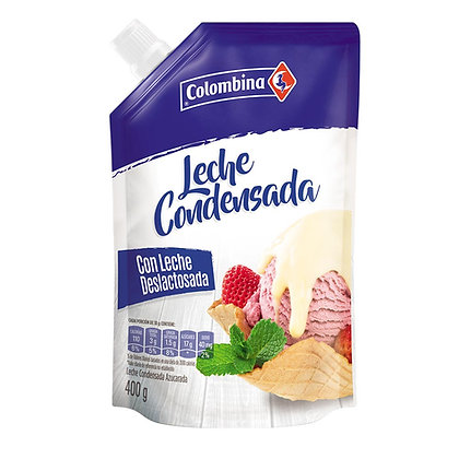 LECHE CONDENSADA x 400g - COLOMBINA