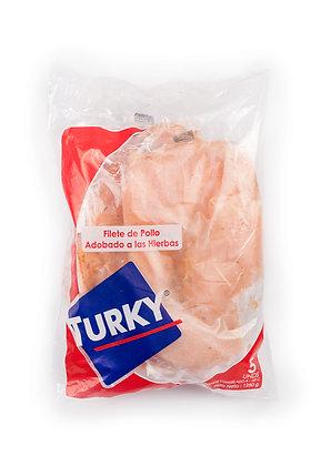 FILETE DE POLLO ADOBADO 250g x 5und - TURKY