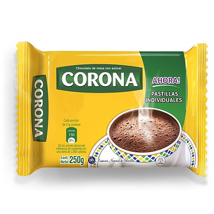 CHOCOLATE x 250g - CORONA