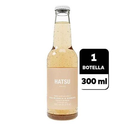 SODA UVA BLANCA-ROMERO x300ml-HATSU