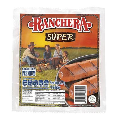 SALCHICHA SUPER RANCHERA 525g x 7und - ZENU