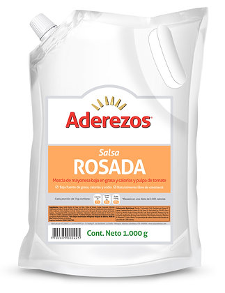 SALSA ROSADA x 1kg - ADEREZOS