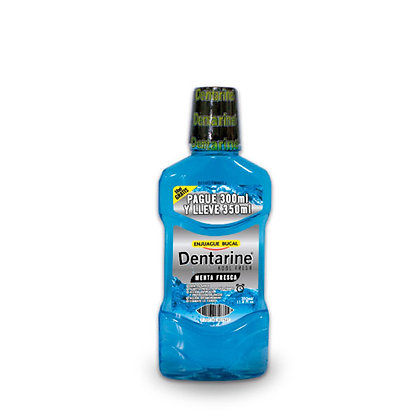 ENJUAGUE BUCAL MENTA x 350ml - DENTARINE