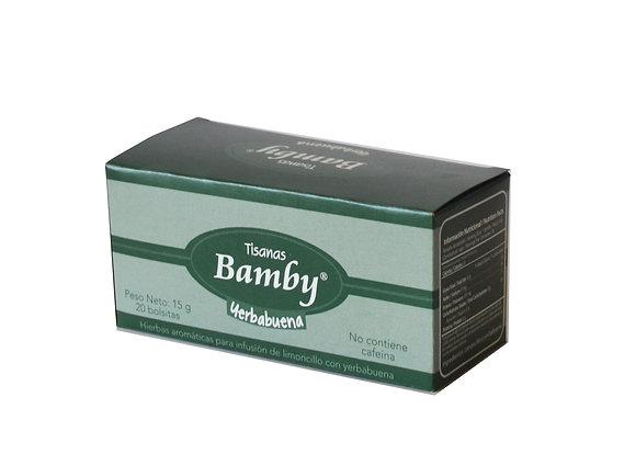 AROMATICA YERBABUENA x 20und - BAMBY
