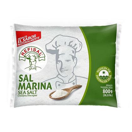 SAL MARINA BOLSA x 800g - REFISAL