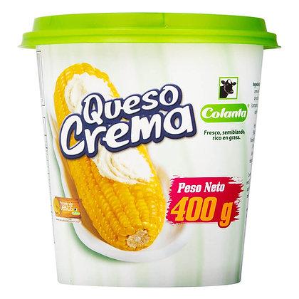 QUESO CREMA x400g-COLANTA