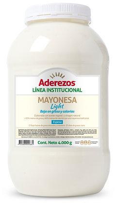 SALSA MAYONESA GARRAFA x 4kg - ADEREZOS
