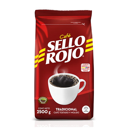 CAFE MOLIDO x 2.5kg - SELLO ROJO