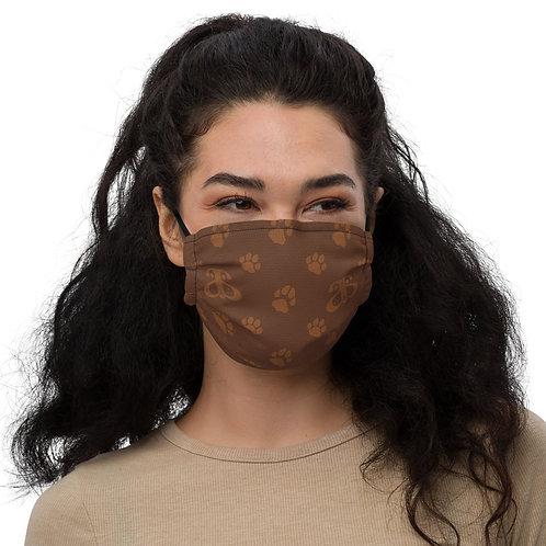 Designer Inspired Face Mask: Faux Leather