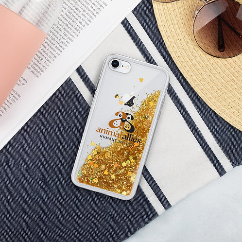 AAHS Logo Liquid Glitter Phone Case