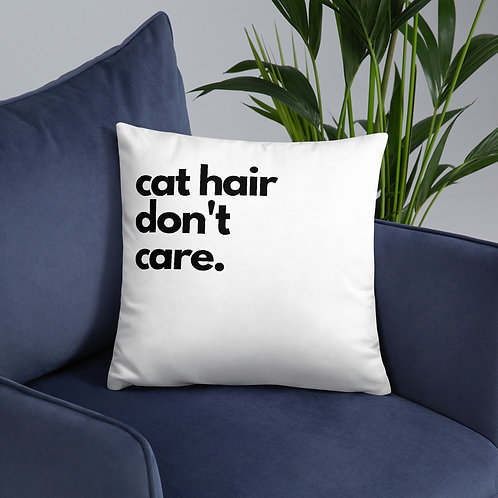 Kitty Don't Care; Pillow