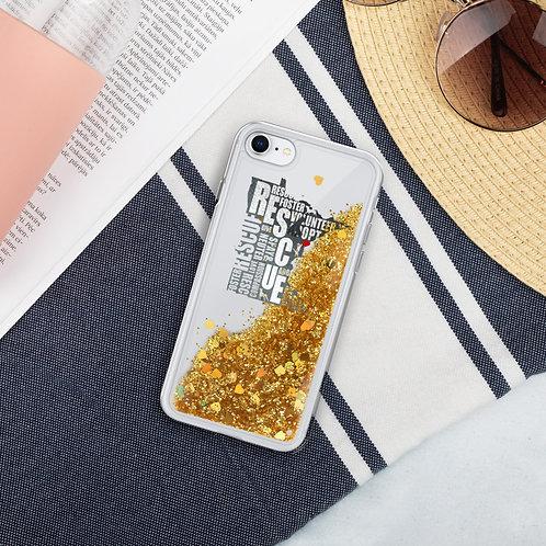 Rescue MN Liquid Glitter Phone Case