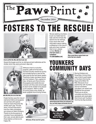 2014_December_Paw_Print_Front_Page.jpg
