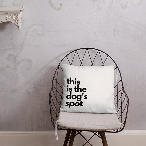 The Dog's Spot; Pillow