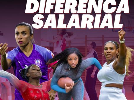 Diferença salarial entre homens e mulheres no esporte ainda é realidade
