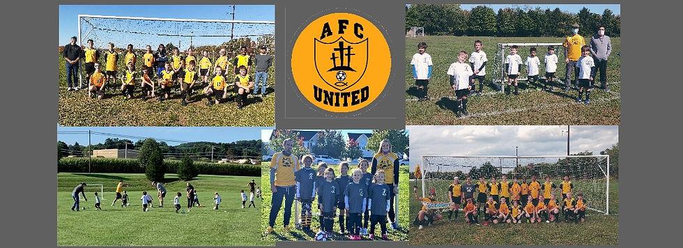 Banner - AFC United Soccer - Spring 2021