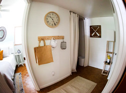 Hall to Bedrooms and Laundry
