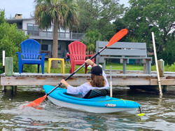 Kayak right from the house